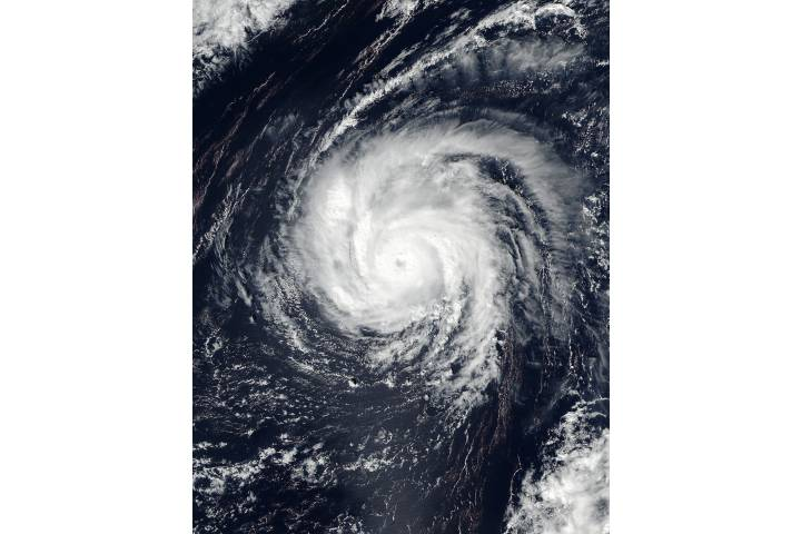 Typhoon Songda (23W) in the western Pacific - selected image