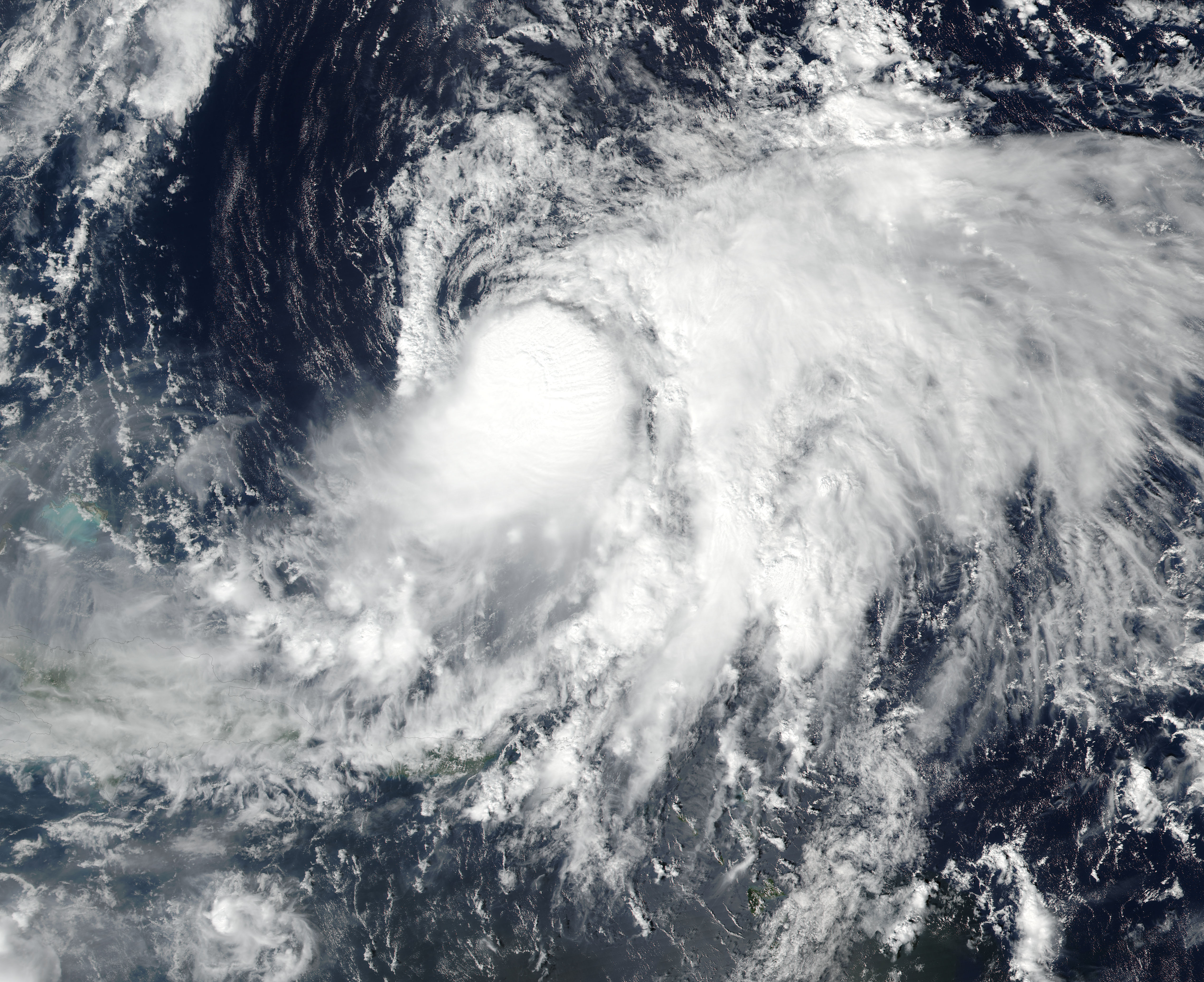 Tropical Storm Nicole (15L) in the western Atlantic - related image preview