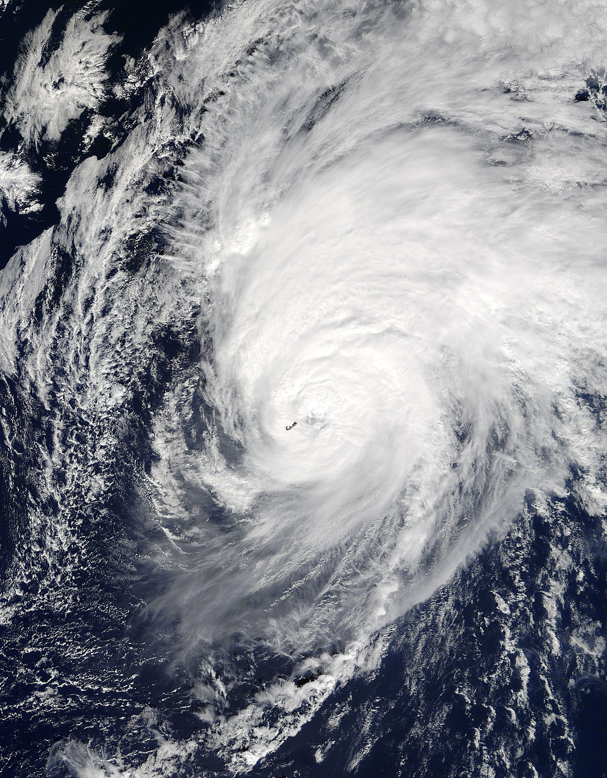 Hurricane Nicole (15L) over Bermuda - related image preview