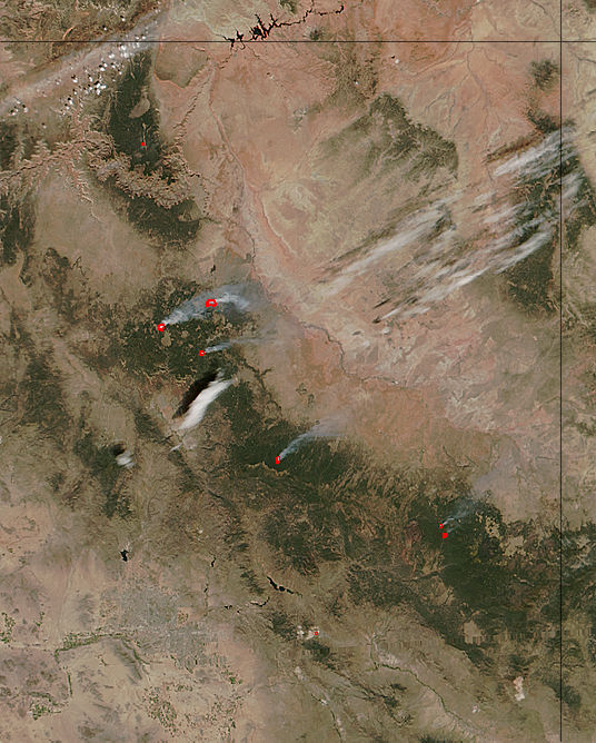 Fires in Arizona - related image preview