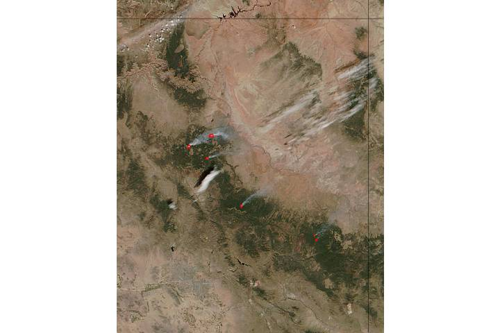 Fires in Arizona - selected image