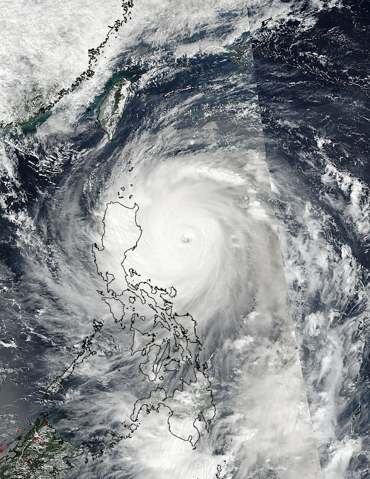 Super Typhoon Haima (25W) over the Philippines - related image preview
