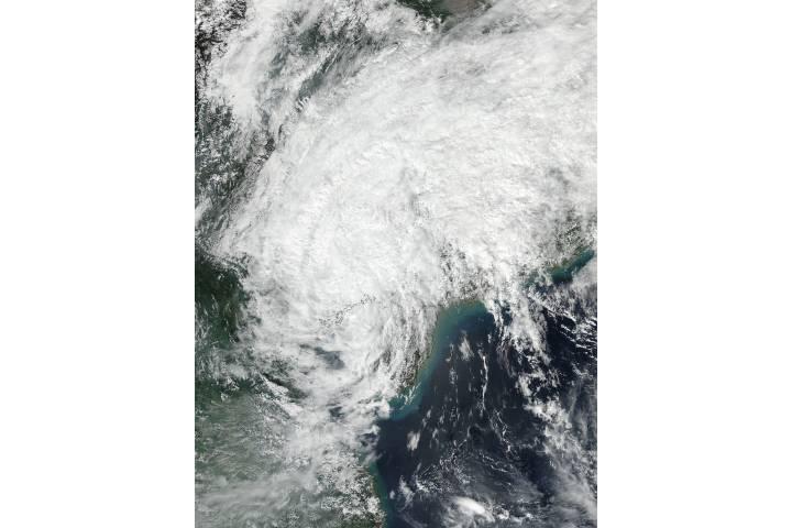Tropical Depression Sarika (24W) over China - selected image