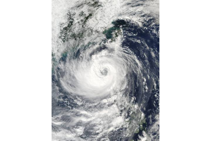 Typhoon Haima (25W) over the Philippines - selected image