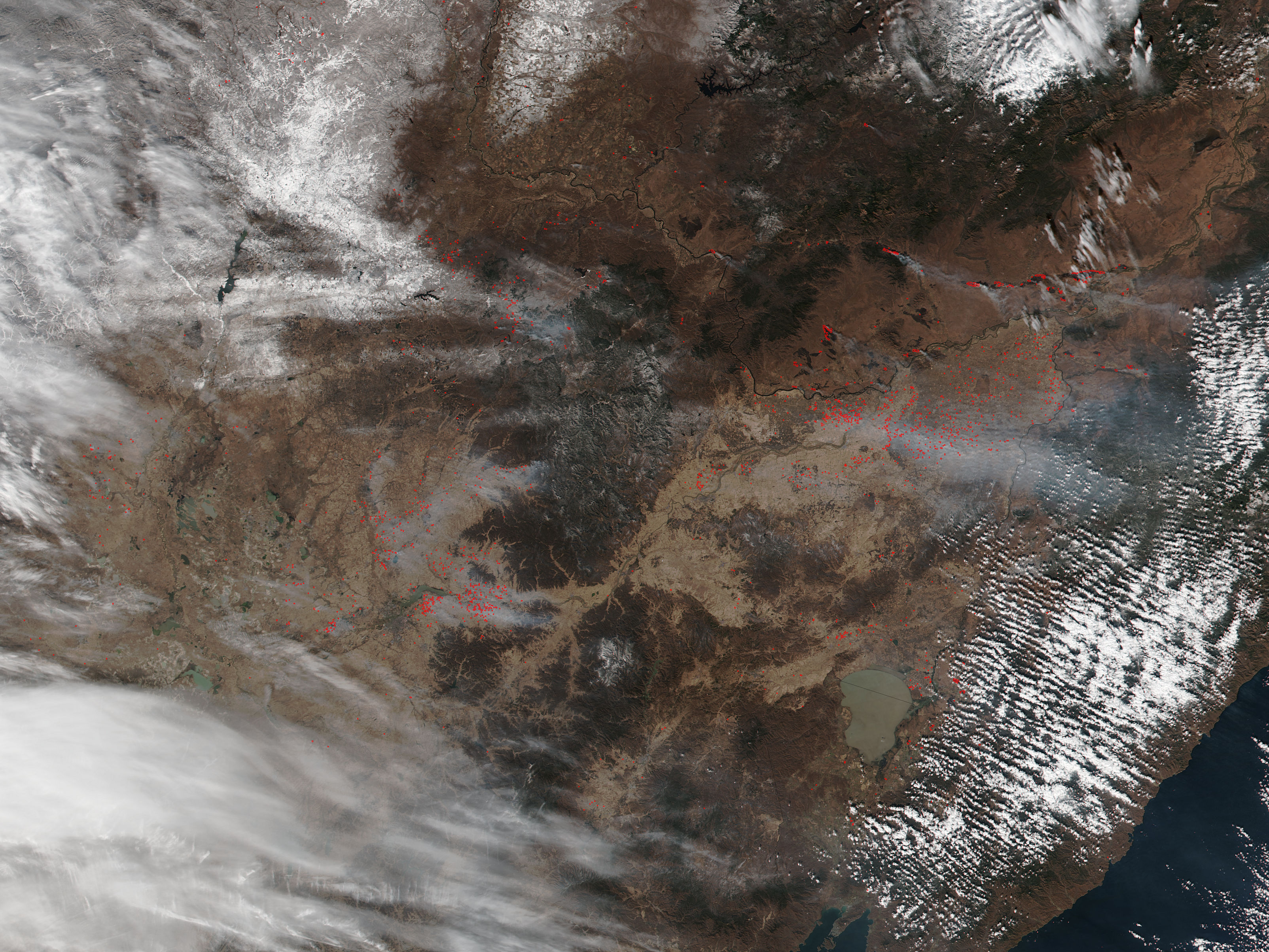 Fires in eastern China and Russia - related image preview