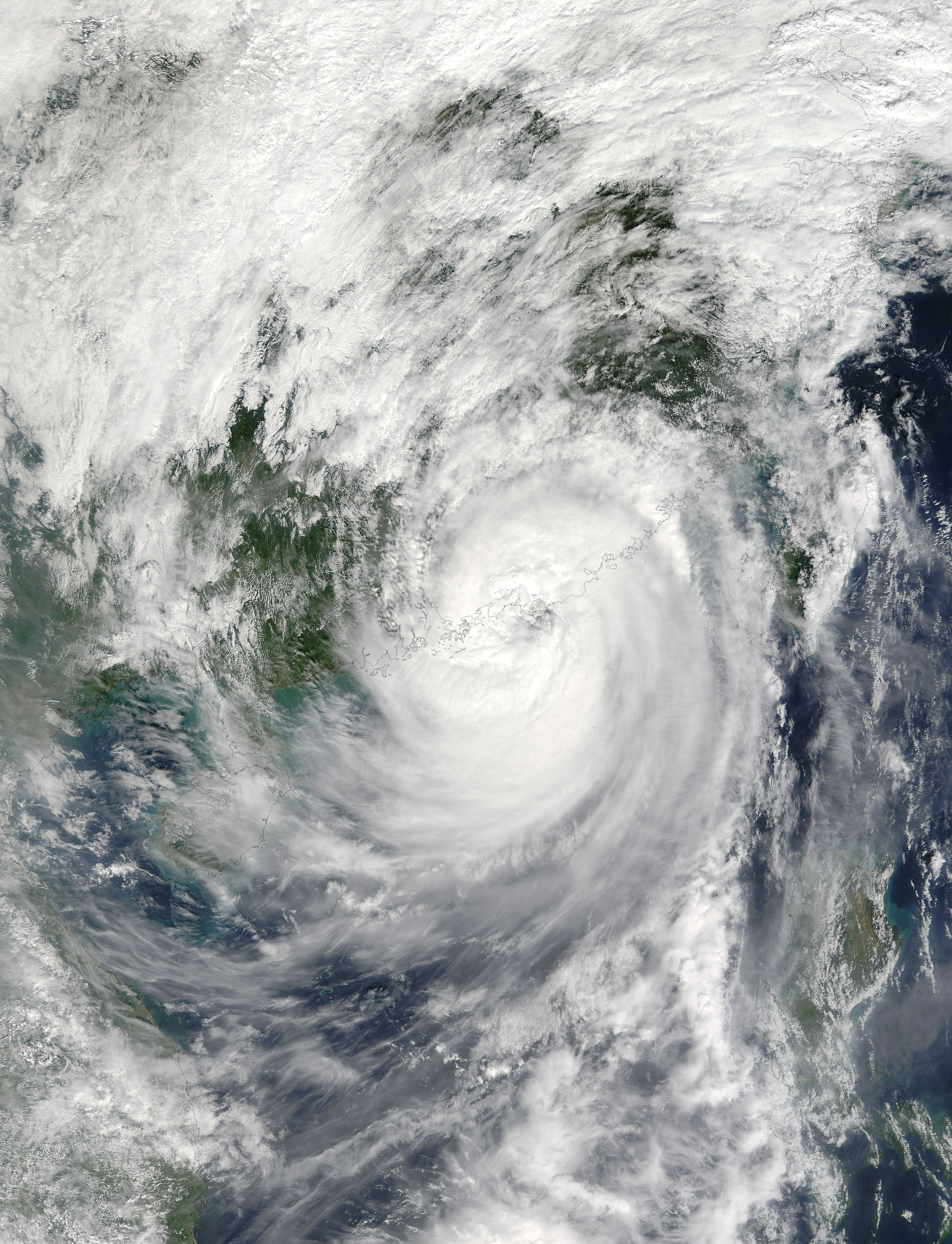 Typhoon Haima (25W) over China - related image preview