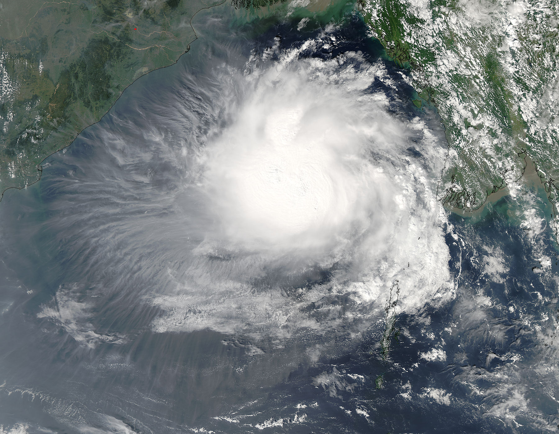 Tropical Cyclone Three (03B) in the Bay of Bengal - related image preview