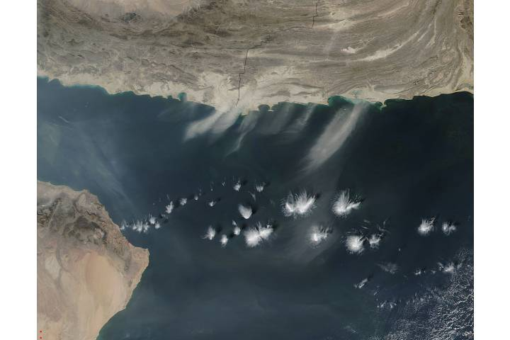 Dust over the Arabian Sea - selected image