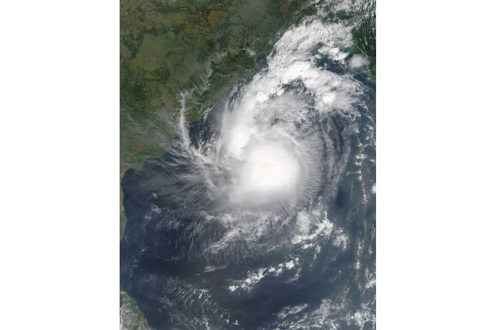 Tropical Cyclone Kyant (03B) in the Bay of Bengal - selected image