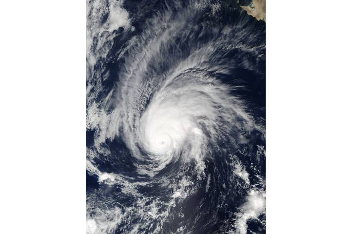 Hurricane Seymour (20E) in the eastern Pacific - selected image