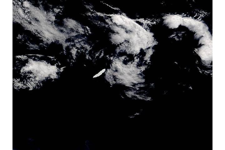Iceberg B15K in the South Atlantic Ocean - selected image