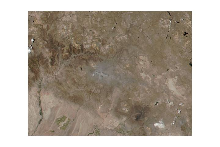 Eruption of Sabancaya, Peru - selected image