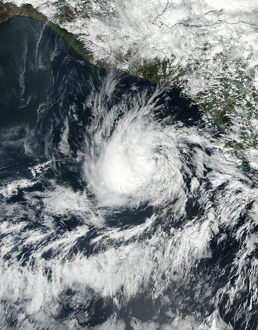 Tropical Storm Otto (22E/16L) in the eastern Pacific - related image preview