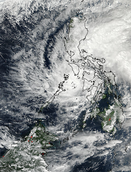 Tropical Storm Tokage (29W) over the Philippines - related image preview