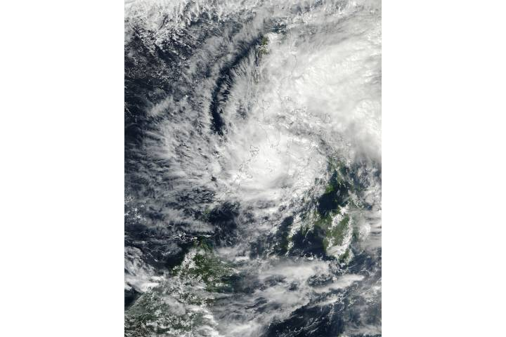 Tropical Storm Tokage (29W) over the Philippines - selected image