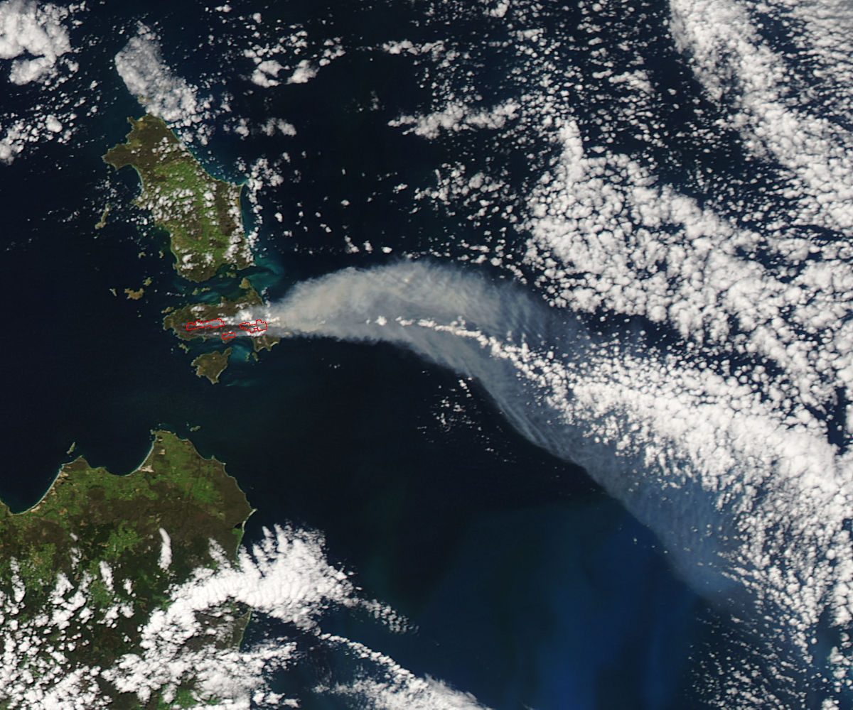 Fires on Cape Barren Island, Australia - related image preview