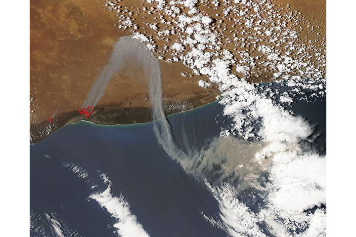 Fires in Western Australia - selected image