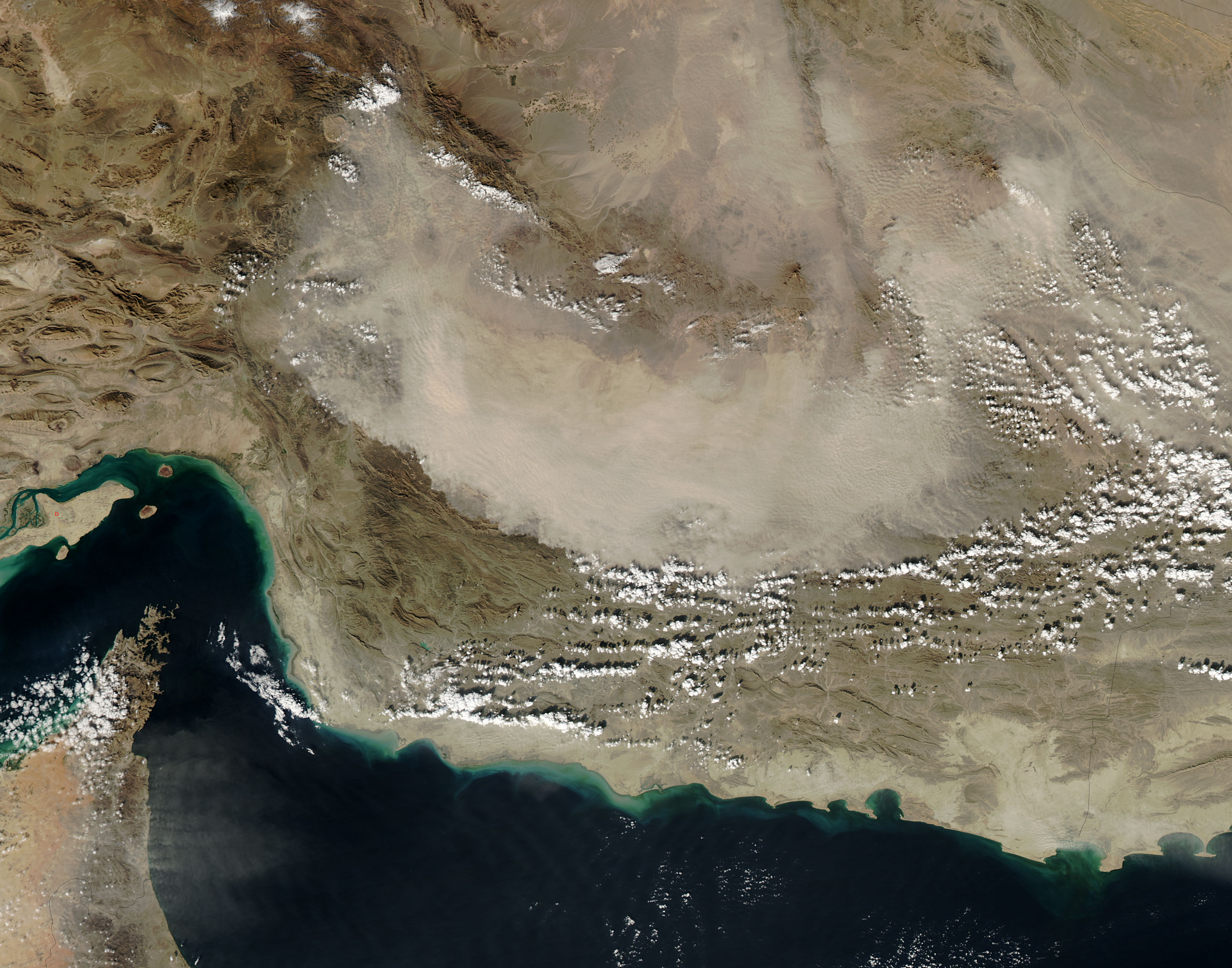 Dust storm in Iran - related image preview