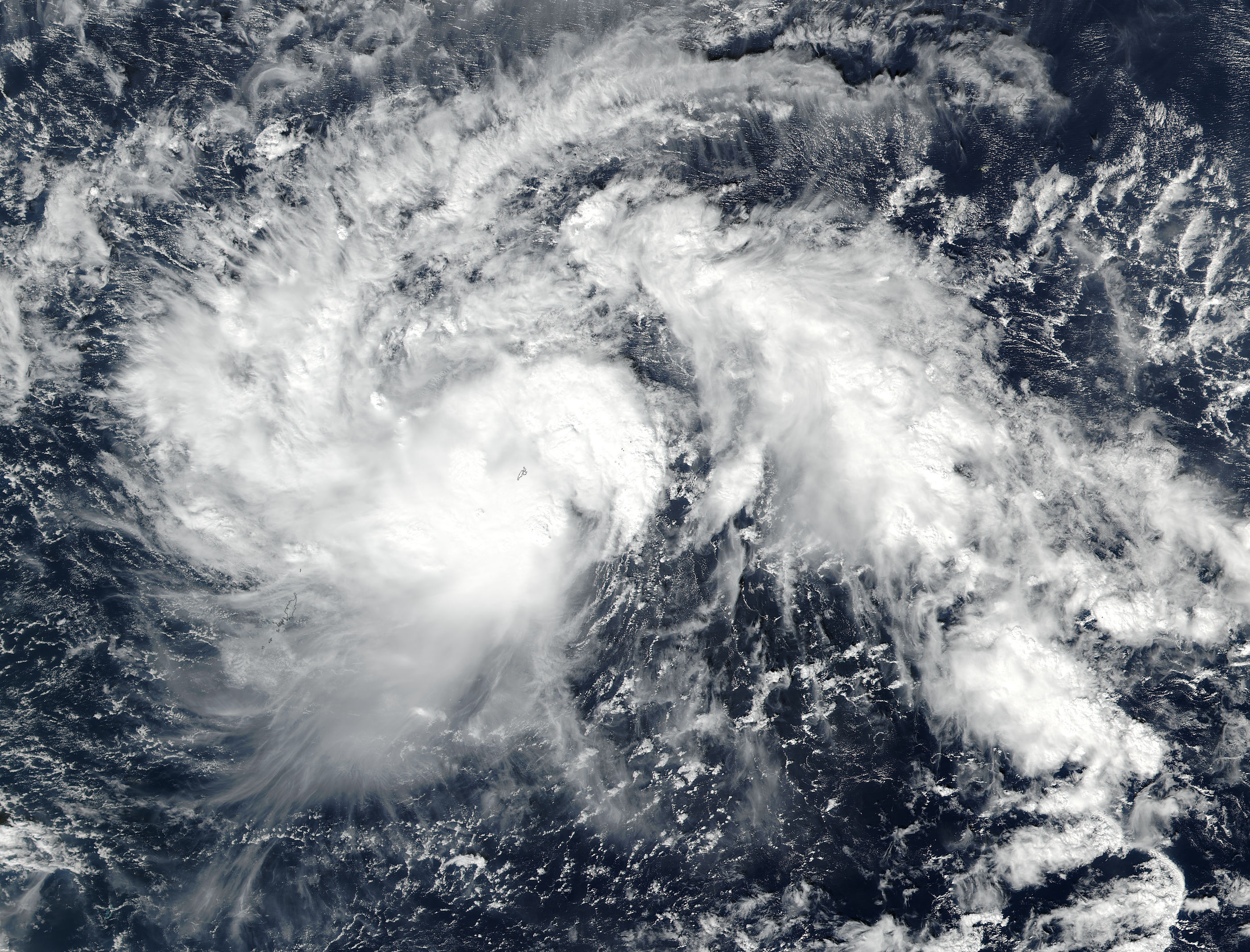 Tropical Storm Nock-ten (30W) in the western Pacific - related image preview
