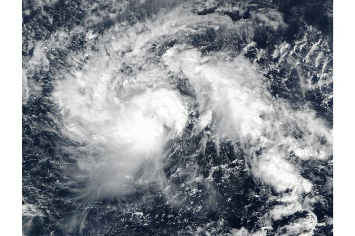 Tropical Storm Nock-ten (30W) in the western Pacific - selected image