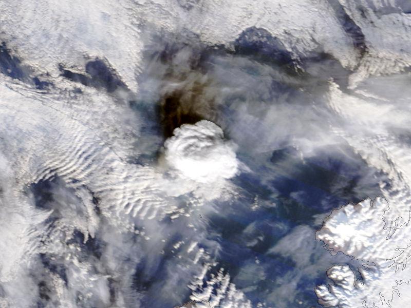 Eruption of Bogoslof, Alaska - related image preview