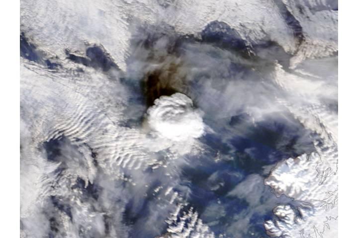 Eruption of Bogoslof, Alaska - selected image