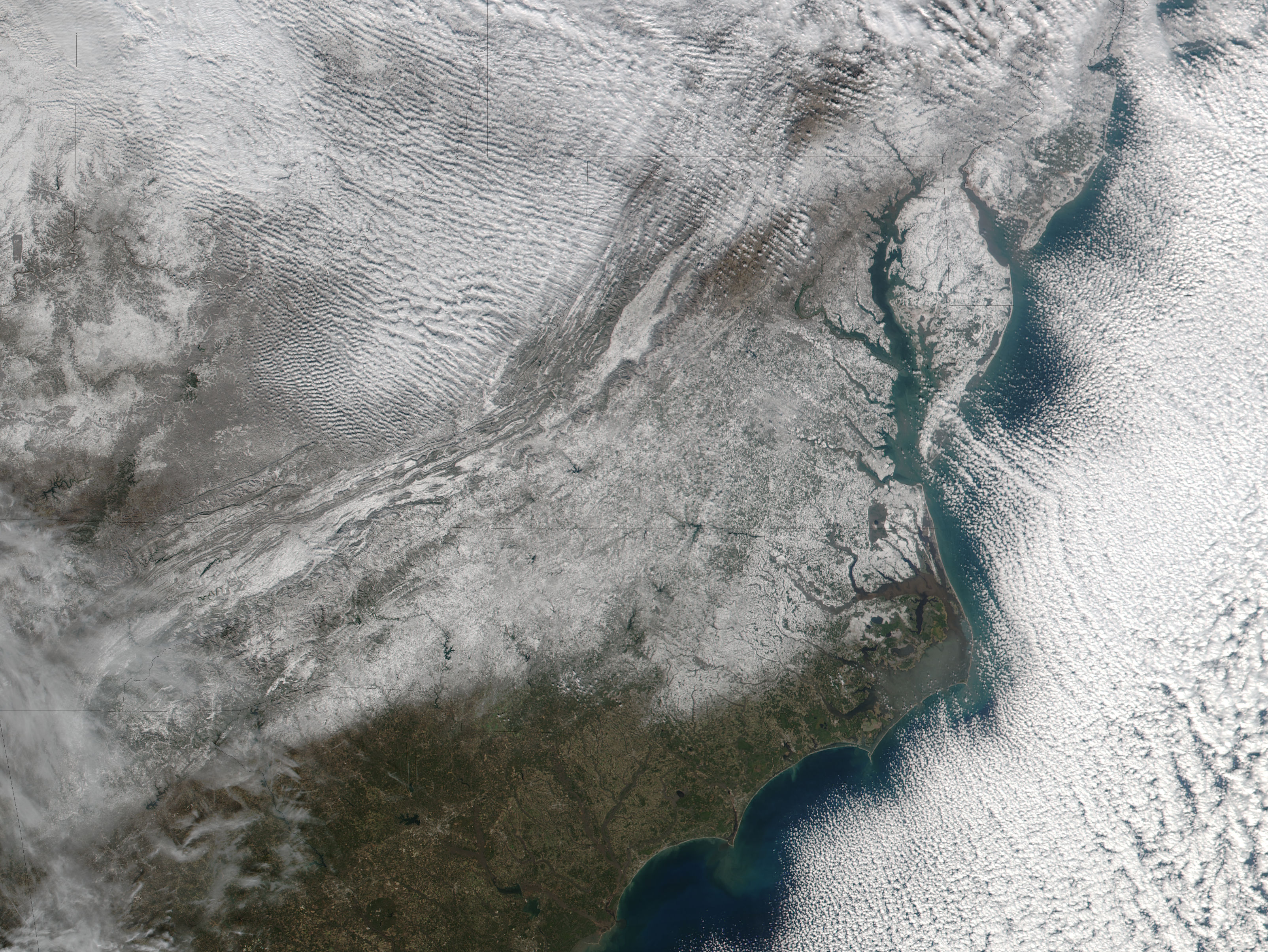 Snow in the southeastern United States - related image preview