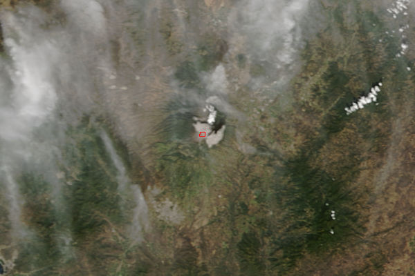 Eruption of Colima volcano, Mexico - related image preview