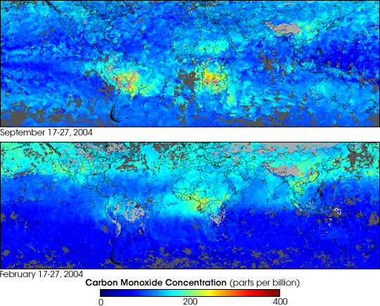 Carbon Monoxide in the Southern Hemisphere - related image preview