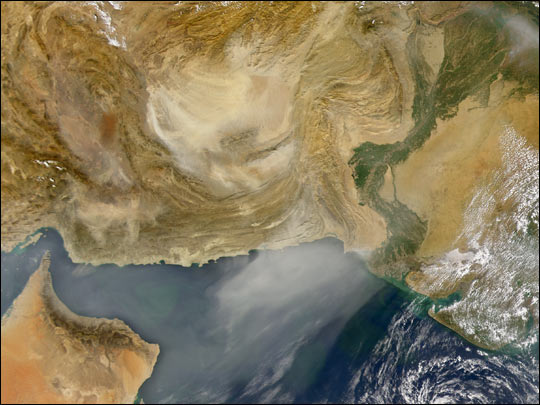 Dust Storm over Afghanistan and Pakistan - related image preview