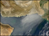 Dust Storm over Afghanistan and Pakistan - selected image