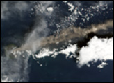 Continued Eruption of Manam Volcano