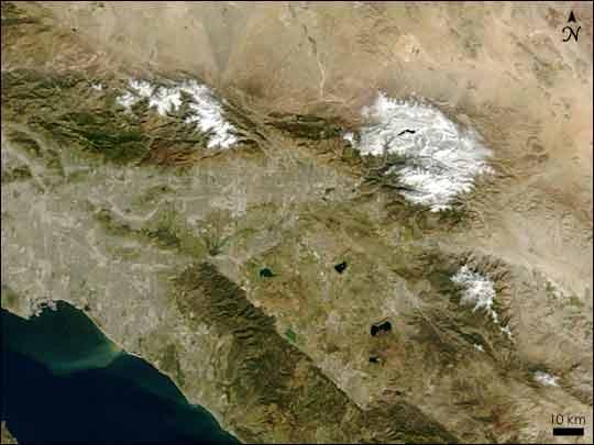 Record Snow in California