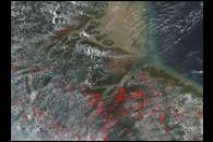 Fires in Eastern Brazil