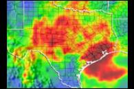 Heavy Rains Drench Texas