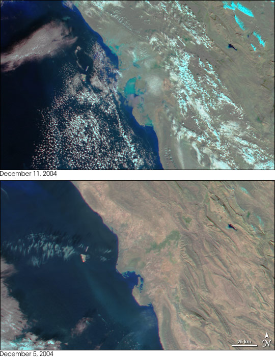 Floods on Iranian Gulf Coast