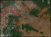 Fires in Southeast Asia