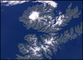Oil Spill off Unalaska Island