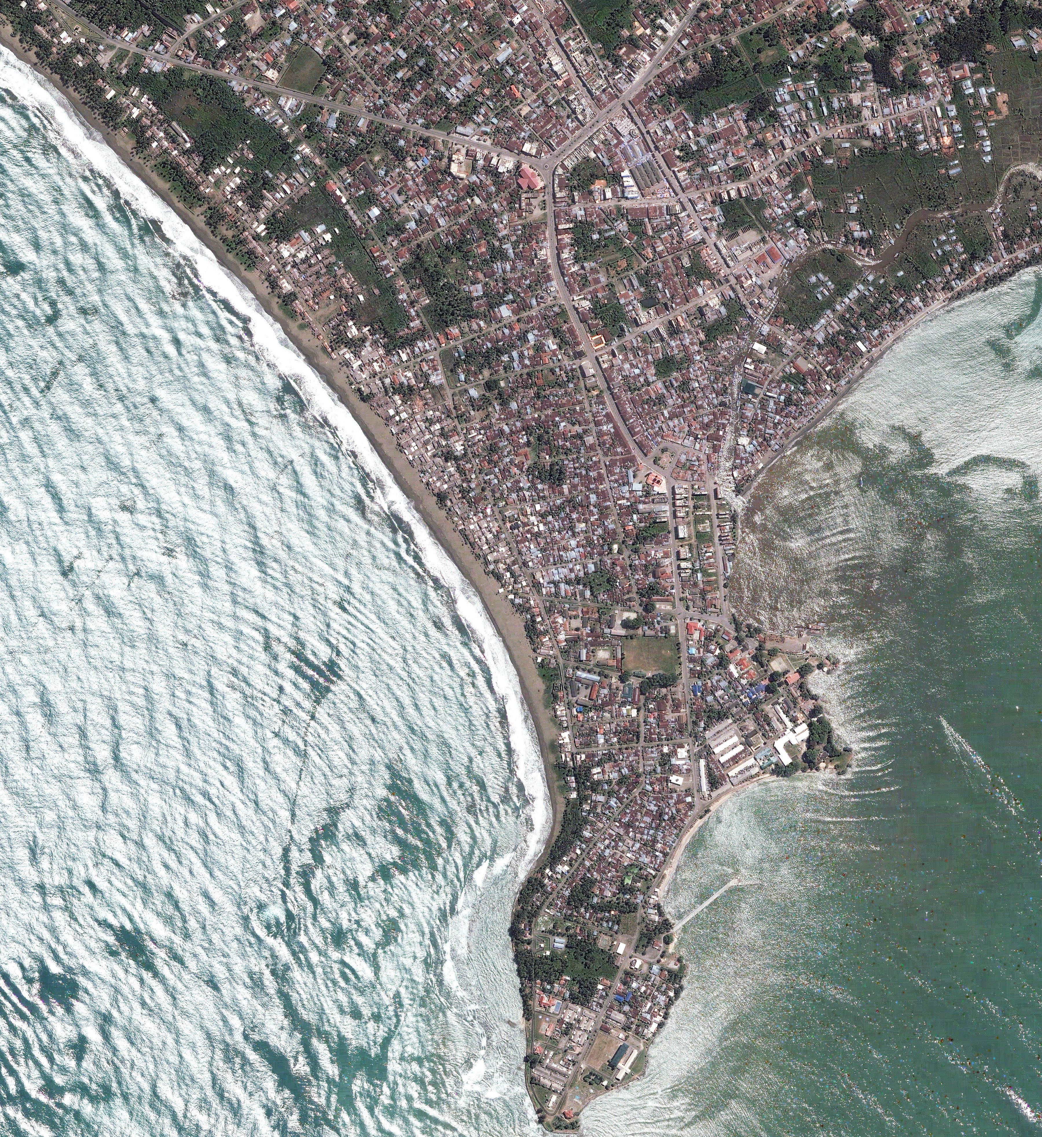 NASA Visible Earth: Earthquake Spawns Tsunamis