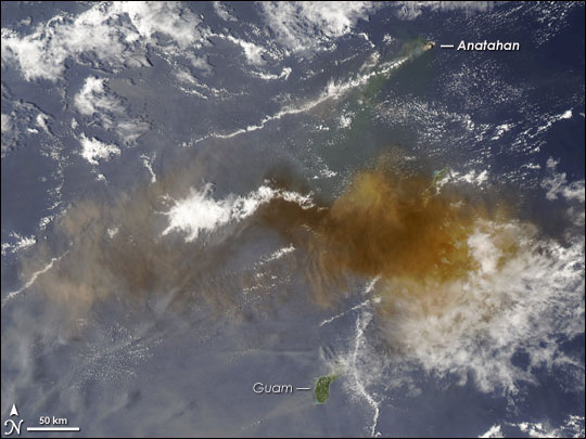 Eruption of Anatahan