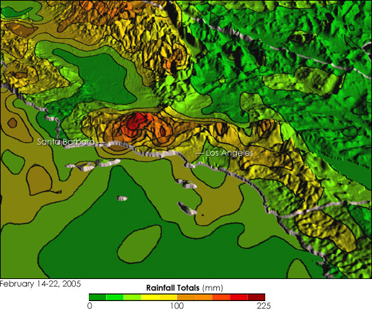 Persistent Rains Bring Floods, Mudslides to California