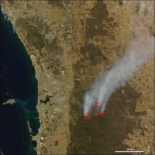 Wildfires Near Perth