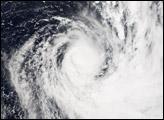 Cyclone Meena strikes Cook Islands