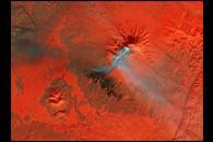 Eruption of Klyuchevskaya Volcano