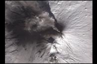 Eruption of Klyuchevskaya Volcano