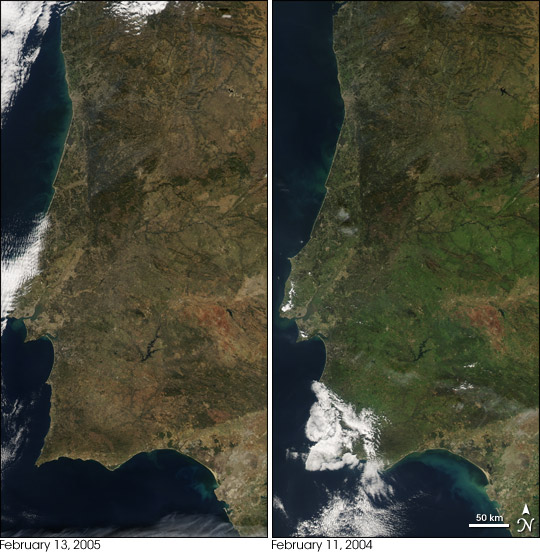 Drought on the Iberian Peninsula