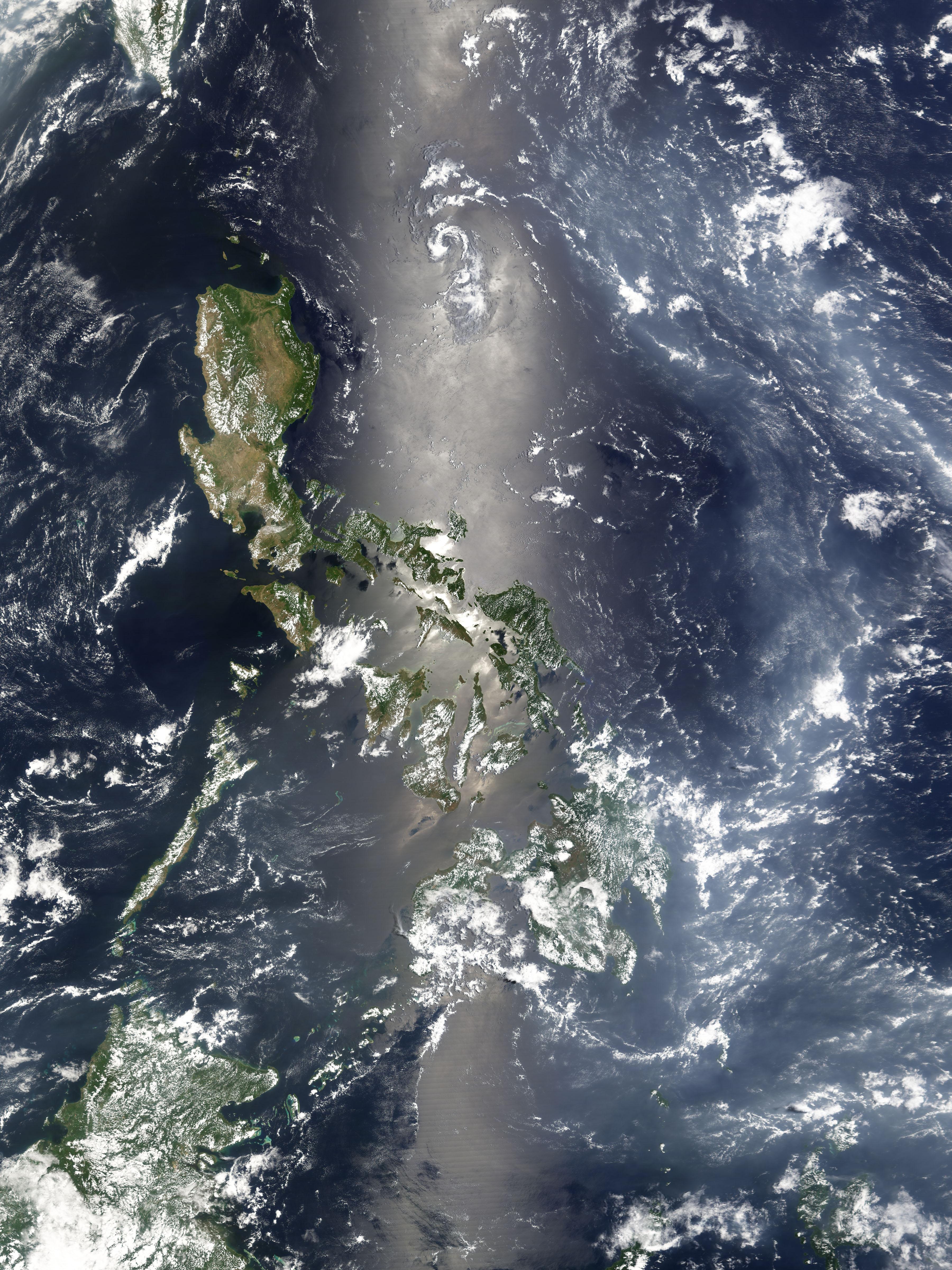 Haze over the Philippine Sea : Natural Hazards