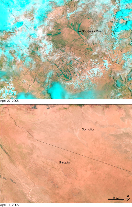 Floods in Ethiopia and Somalia