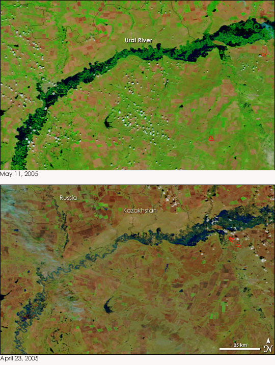 Springtime floods in southern russia natural hazards springtime floods in southern russia publicscrutiny Images