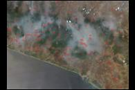 Fires in Mexico's Sierra Madre del Sur